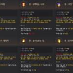 ≪黒い砂漠≫2021年5月4日 韓国アップデートスキル変更点